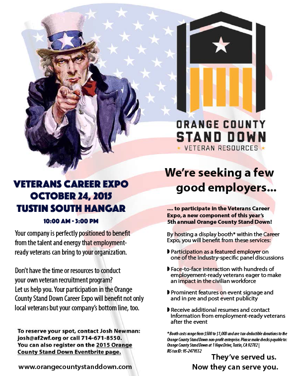 updated career expo flyer